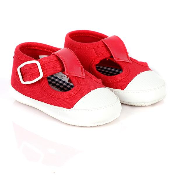 BOYS CRANBERRY CANVAS SHOES - ruffntumblekids