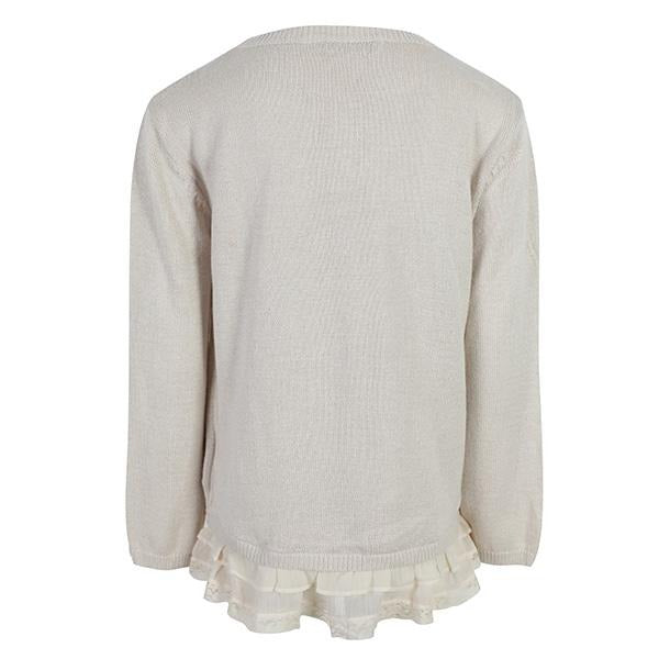 GIRLS RUFFLE SWEATER TOP - ruffntumblekids