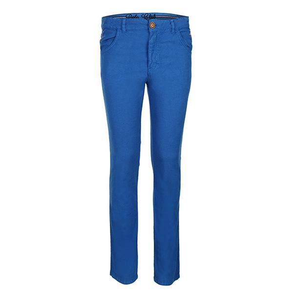 BOYS ROYAL BLUE SLIM FIT TROUSER - ruffntumblekids
