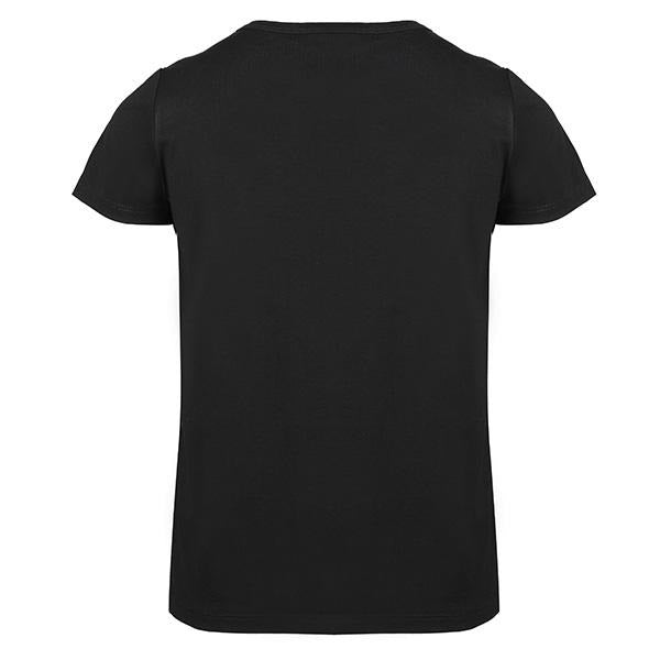 BOYS BLACK IRON MAN DIAMANTE TEE - ruffntumblekids