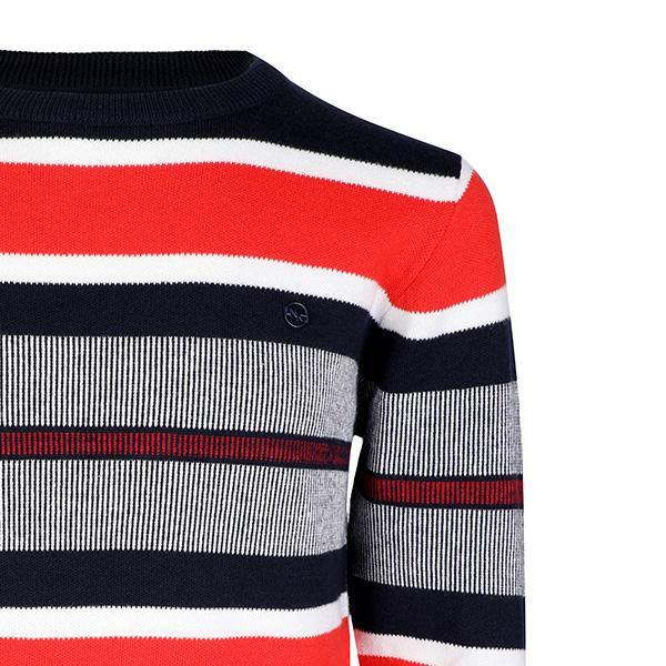 BOYS MULTI LONG SLEEVE STRIPED SWEATER - ruffntumblekids