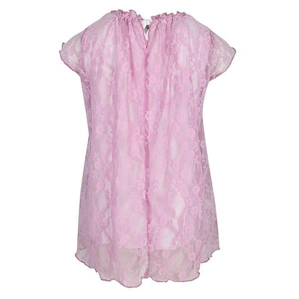 GIRLS PURPLE LACE DRESS - ruffntumblekids