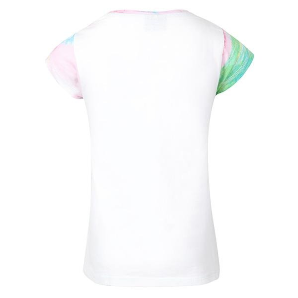 GIRLS WHITE GRAPHIC TOP - ruffntumblekids