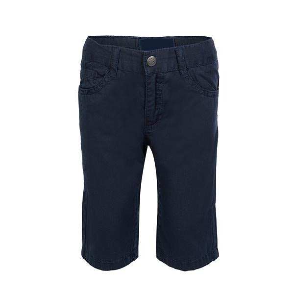 BOYS NAVY BLUE CHINOS SHORTS - ruffntumblekids