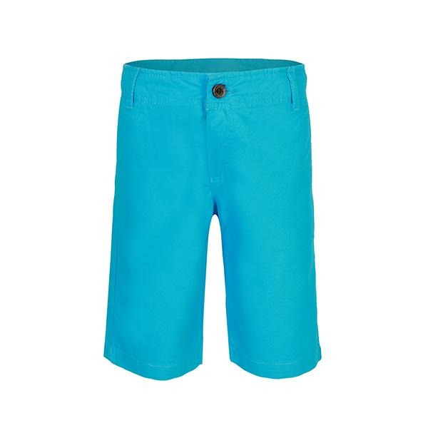 BOYS TURQUOISE SLIM FIT CHINO SHORTS - ruffntumblekids