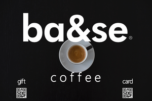 base coffee gift card