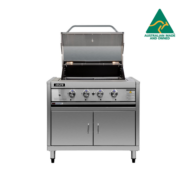 Stainless Steel 4 Burner BBQ & Module