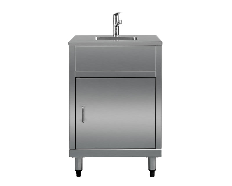 Stainless Steel Sink Module - cronin-alfresco