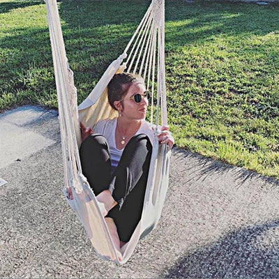 Hammock Chair Large Swing Chair Relax Hanging Swing Chair