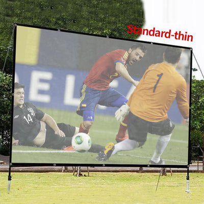 72 to 150 Inch Outdoor Projector Screen, Home Outdoor Movie Screen