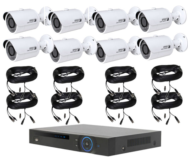 8 HD Varifocal Camera with DVR Package