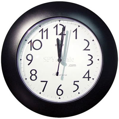 Small Wall Clock DVR Hidden Camera