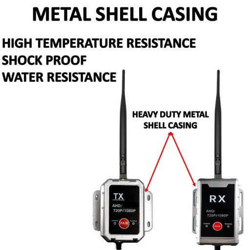 AHD High Definition Wireless Transmitter and Receiver