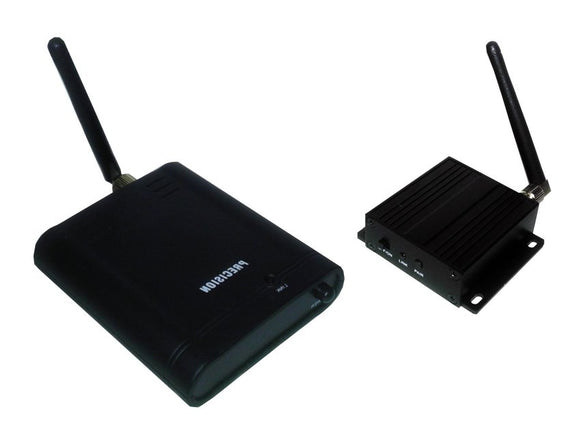 High Gain Wireless Transmitter and Receiver for Analog Camera