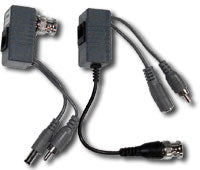 Video Baluns for Video or PTZ Over Ethernet