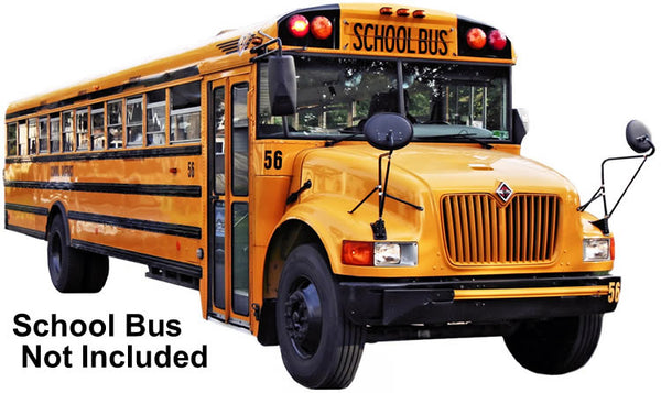 Complete 1 or 2 Camera School Bus HD Camera System