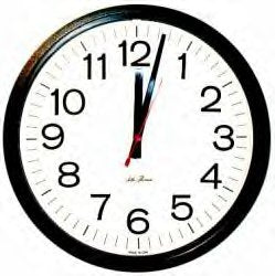 Wall Clock Large DVR  Hidden Camera