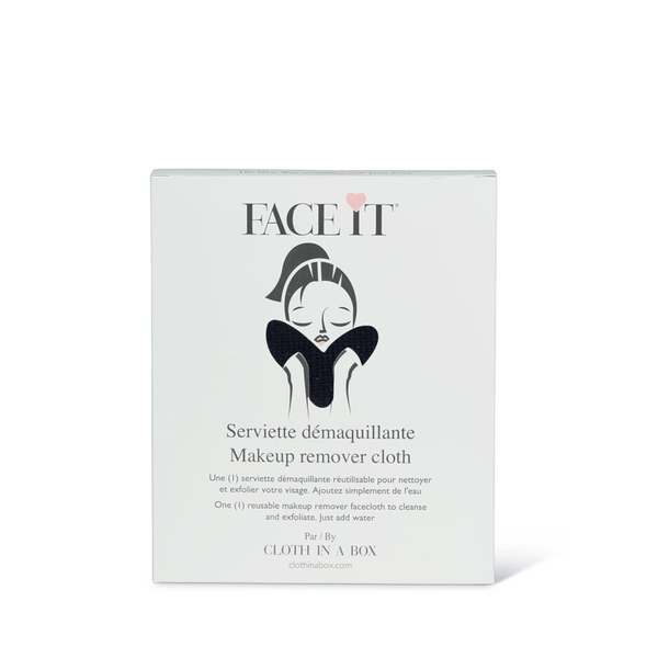 FACE IT | Cloth in a Box | Make-up Remover and Cleanser Towel