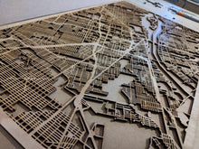 Load image into Gallery viewer, Laser Cut Map (Custom) - Silvan Art