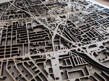 Load image into Gallery viewer, Sacred Heart University 3D Wooden Laser Cut Campus Map