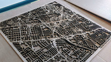 Load image into Gallery viewer, Alfred State College 3D Wooden Laser Cut Campus Map - Silvan Art