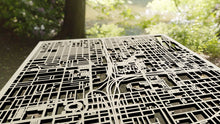 Load image into Gallery viewer, Creighton University 3D Wooden Laser Cut Campus Map - Silvan Art