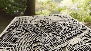 University of Sydney 3D Wooden Laser Cut Campus Map | Unique Gift - Silvan Art