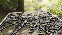 Load image into Gallery viewer, Cambridge England - 3D Wooden Laser Cut Map | Unique Gift