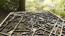 Load image into Gallery viewer, Drew University 3D Wooden Laser Cut Campus Map