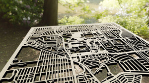 California State University, Long Beach 3D Wooden Laser Cut Campus Map | Unique Gift