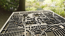Load image into Gallery viewer, Cal State Long Beach 3D Wooden Laser Cut Campus Map - Silvan Art
