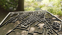 Load image into Gallery viewer, Centenary University 3D Wooden Laser Cut Campus Map | Unique Gift - Silvan Art