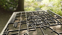 Load image into Gallery viewer, California Institute of Technology CalTech 3D Wooden Laser Cut Campus Map