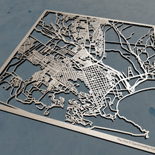 Load image into Gallery viewer, Cabo San Lucas Mexico Laser Cut Map | 3D Wooden Map, Cabo San Lucas Laser Cut Map | Personalized Gift, Mexico Map, Unique Gift