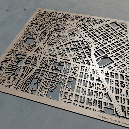 Indiana Wesleyan University -  Wooden Laser Cut Map | Unique Gift