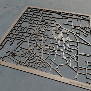 Sam Houston State University SHSU - Wooden Laser Cut Map | Unique Gift