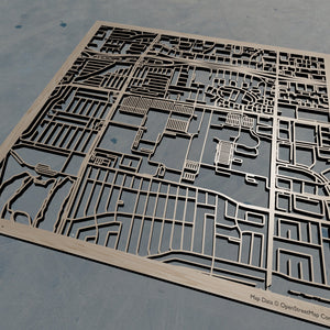California State University Dominguez Hills CSUDH - Wooden Laser Cut Map | Unique Gift