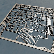 Load image into Gallery viewer, Florida Atlantic University FAU 3D Wooden Laser Cut Campus Map
