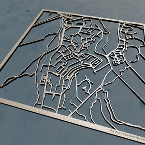 Seoul National University 3D Wooden Laser Cut Campus Map | Unique Gift - Silvan Art
