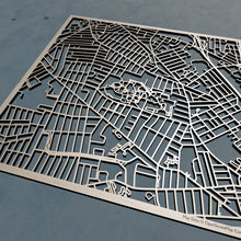 Load image into Gallery viewer, Providence College 3D Wooden Laser Cut Map | Unique Gift - Silvan Art