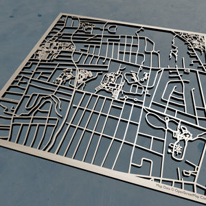 University of Saint Joseph 3D Wooden Laser Cut Campus Map | Unique Gift - Silvan Art