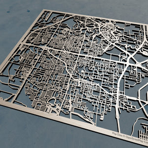 Irving, Texas - 3D Wooden Laser Cut Map | Unique Gift