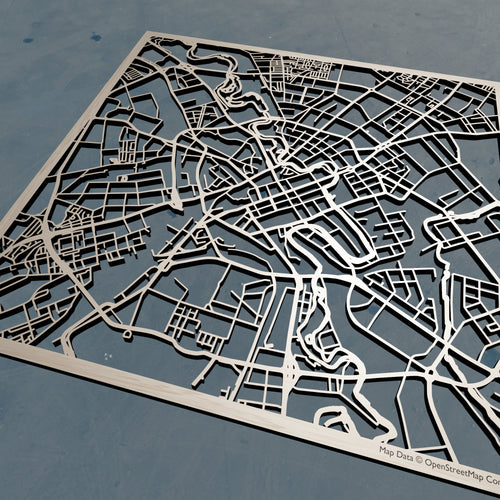 Minsk Belarus - Laser Cut 3D Wood Map | Unique Gift - Silvan Art