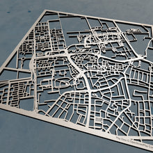 Load image into Gallery viewer, Wageningen UR 3D Wooden Laser Cut Campus Map | Unique Gift - Silvan Art
