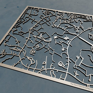 Regis College 3D Wooden Laser Cut Campus Map | Unique Gift - Silvan Art