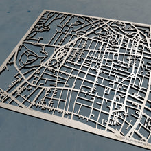Load image into Gallery viewer, Becker College 3D Wooden Laser Cut Campus Map | Unique Gift - Silvan Art