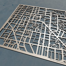 Load image into Gallery viewer, University of Michigan, Ann Arbor 3D Wooden Laser Cut Campus Map