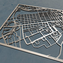 Load image into Gallery viewer, UT Knoxville - University of Tennessee Knoxville 3D Wooden Laser Cut Campus Map