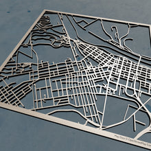 Load image into Gallery viewer, Lock Haven University of Pennsylvania 3D Wooden Laser Cut Map | Unique Gift - Silvan Art