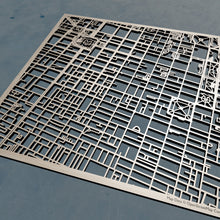 Load image into Gallery viewer, Thomas Jefferson University TJU 3D Wooden Laser Cut Map | Unique Gift - Silvan Art